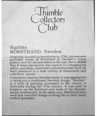 Kurbits - certificate (TCC)