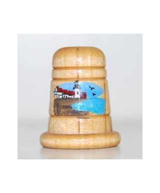 Wooden with picture