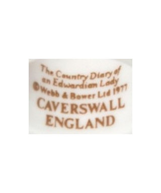Caverswall - The Country Diary of an Edwardian Lady (brown)