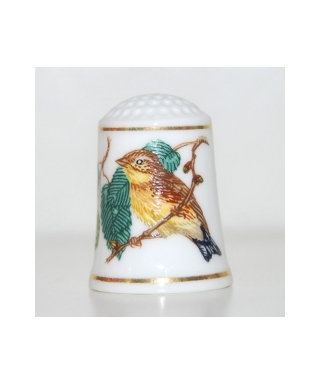 Seria Śpiewające Ptaki Świata - Yellow-breasted bunting