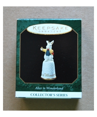Hallmark White Rabbit - box