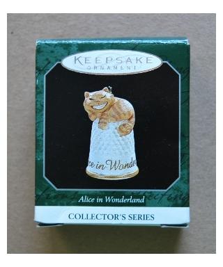 Hallmark Kot z Cheshire - pudełko