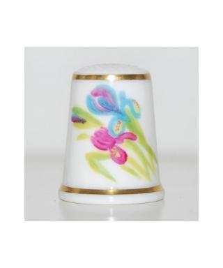 Irises - Fiona Bakewell (Round)