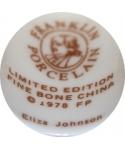 Franklin Porcelain - Eliza Johnson