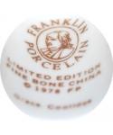 Franklin Porcelain - Grace Coolidge