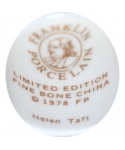 Franklin Porcelain - Helen Taft