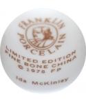 Franklin Porcelain - Ida McKinley