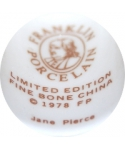 Franklin Porcelain - Jane Pierce