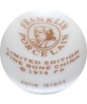 Franklin Porcelain - Julia Grant