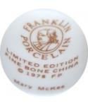Franklin Porcelain - Marry McKee