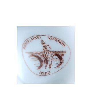 Porcelaines Avignon (brązowy)