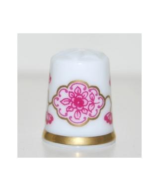 Różowa koronka