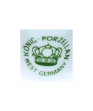 Konig Porzellan West Germany