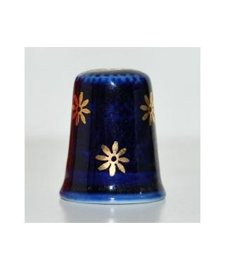 Navy blue Limoges
