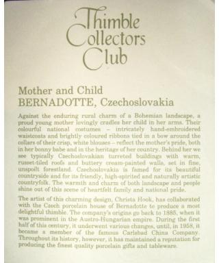 Matka z dzieckiem - certyfikat (TCC)