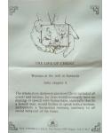 Kobieta przy studni w Samarii - certyfikat