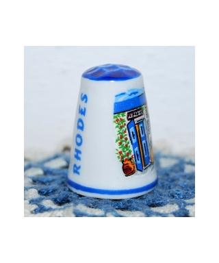 Niebieski Rhodes