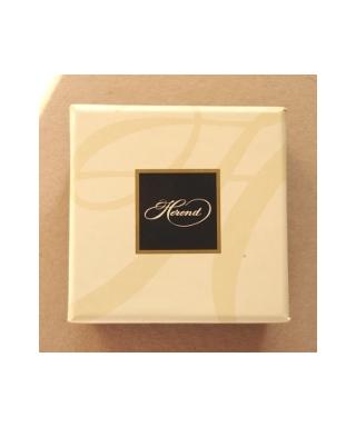 Herend - pudełko (kremowe)