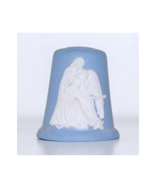 Maryja, dzieciątko i osiołek