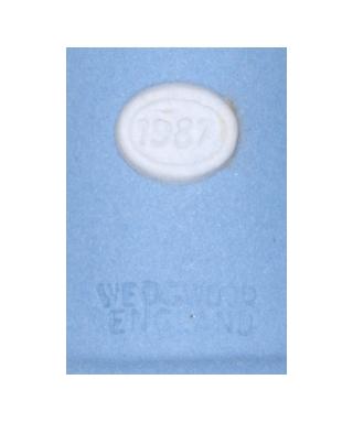 Wedgwood 1987 (blue)