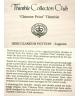 Chinese print - certificate (TCC)