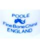 Poole Pottery (niebieski)