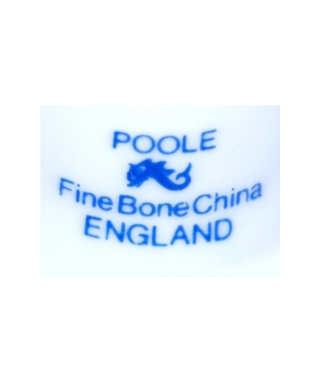 Poole Pottery (blue)