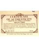 70th Birthday of Prince Philip - certyfikat