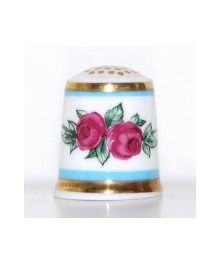 Karminowe róże