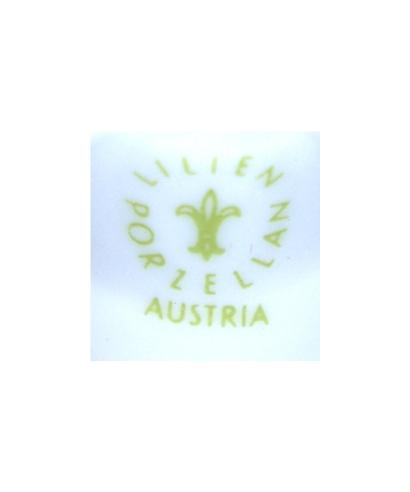 Lilien Porzellan (zielony)