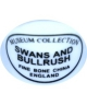 Museum Collection - Swans and bullrush