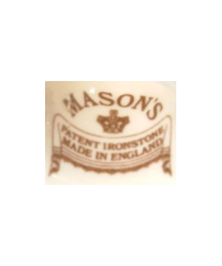 Mason's Ironstone (brown)