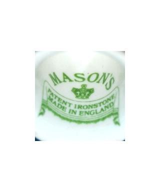 Mason's Ironstone (green)