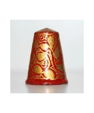 Indie - czerwono-złoty