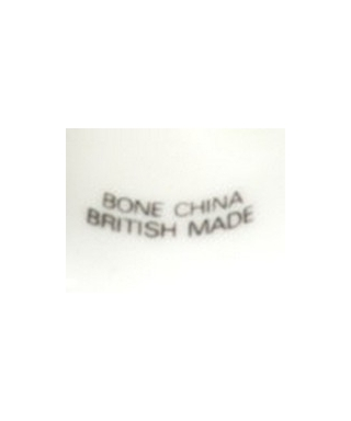 Bone China British Made