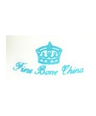 Fine Bone China (niebieski)