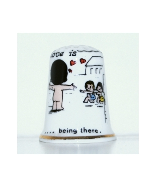 Love is being there
