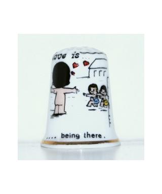 Miłość to kiedy jesteś