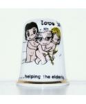 Love is helping the elderly