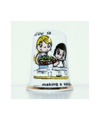 Miłość to robienie sałatki