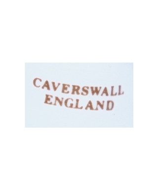 CAVERSWALL ENGLAND (brown)