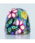 Motyl w kwiatach