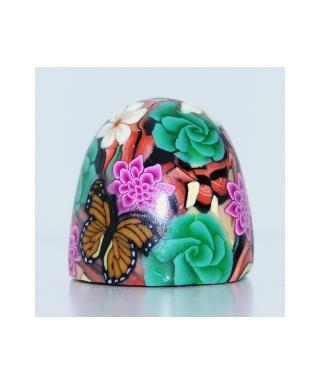 Butterfly in flowers III