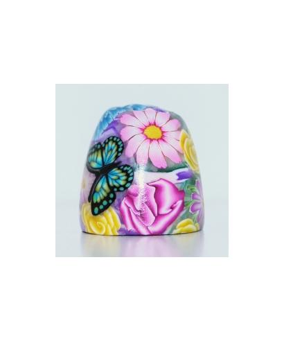 Motyl w kwiatach IV