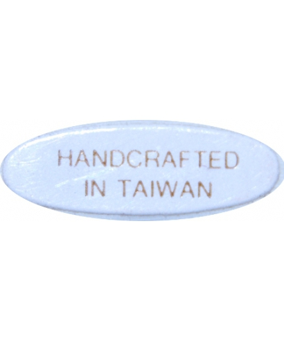 Handcrafted in Taiwan