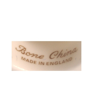 Bone China MADE IN ENGLAND (golden)