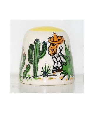 Żółty kaktus