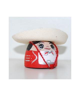 Mexican in sombrero