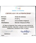 Indigenous Ecuadorians - certificate