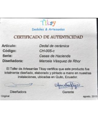 Budynki gospodarcze - certyfikat